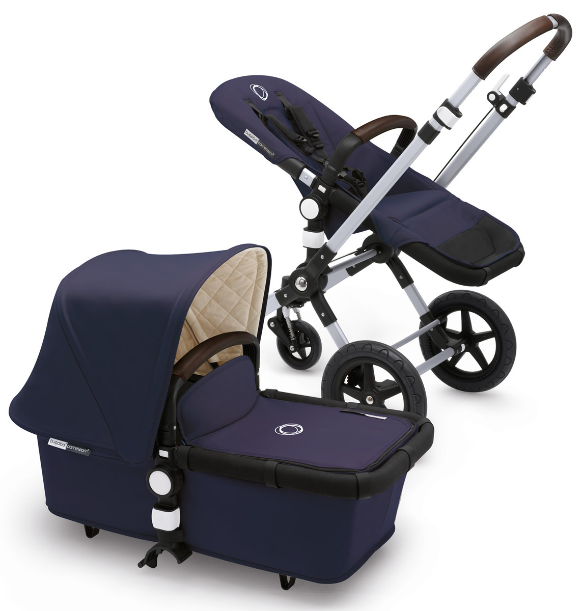 Bugaboo Cameleon 3 Classic Plus Stroller, Navy Blue