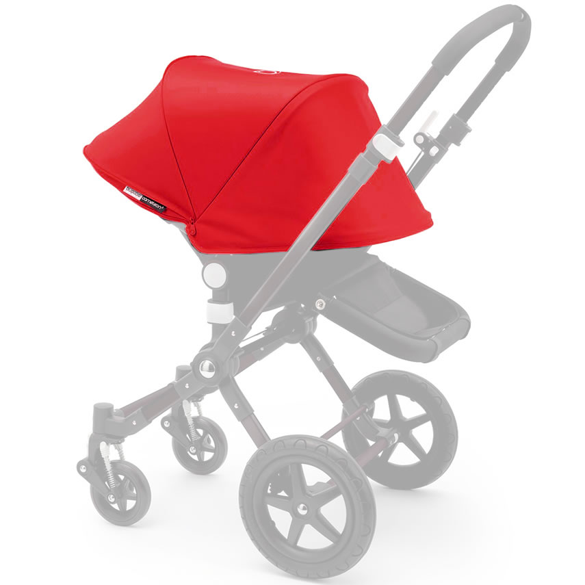 Bugaboo Cameleon 3 Extendable Tailored Fabric Set - Red