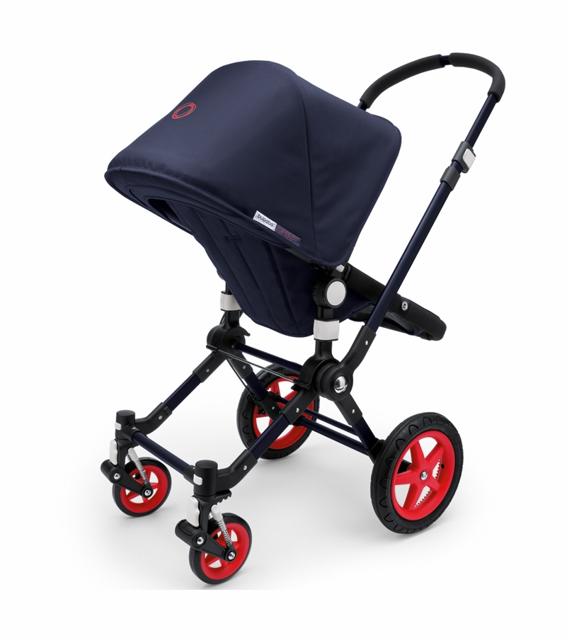bugaboo cameleon 3 special collection neon stroller blue red. Black Bedroom Furniture Sets. Home Design Ideas