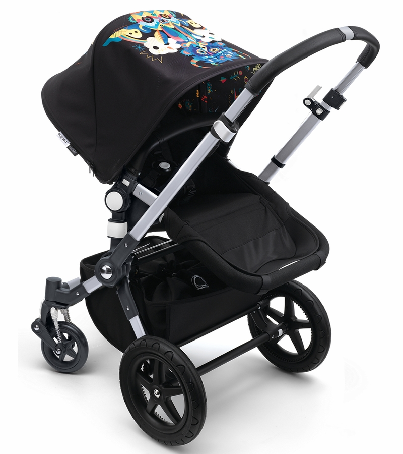 bugaboo cameleon 3 stroller aluminum black niark1. Black Bedroom Furniture Sets. Home Design Ideas