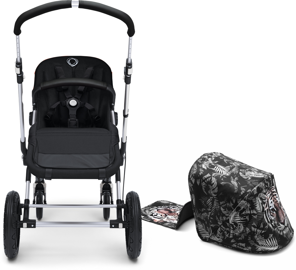 Bugaboo Cameleon 3 Stroller - Aluminum/We Are Handsome