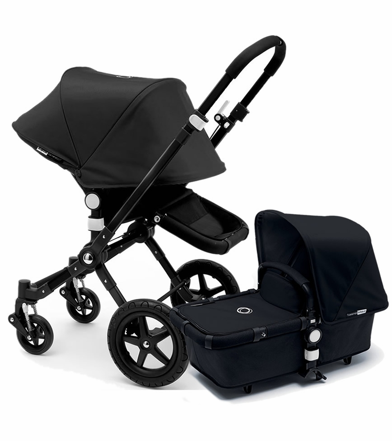 bugaboo 2015 cameleon 3 stroller all black. Black Bedroom Furniture Sets. Home Design Ideas