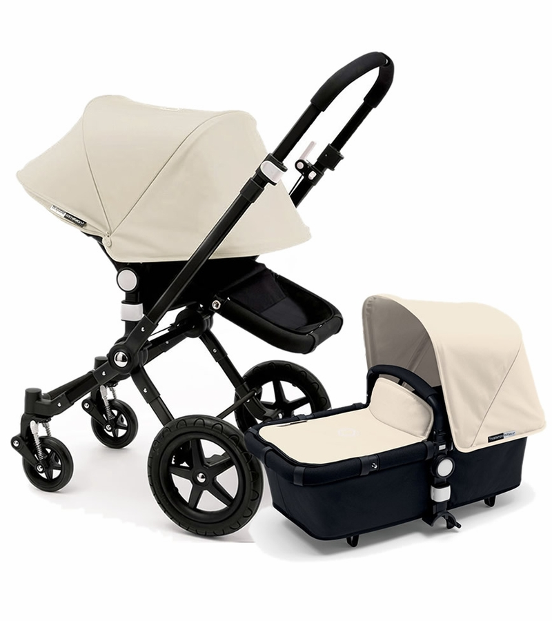 bugaboo 2015 cameleon 3 stroller all blackoff white - Black Canopy 2015