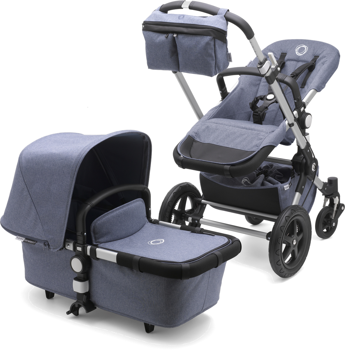 Bugaboo Cameleon 3 Stroller - Fresh Collection - Blue Melange