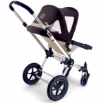 Bugaboo Cameleon Breezy FLEECE Canopy in Black