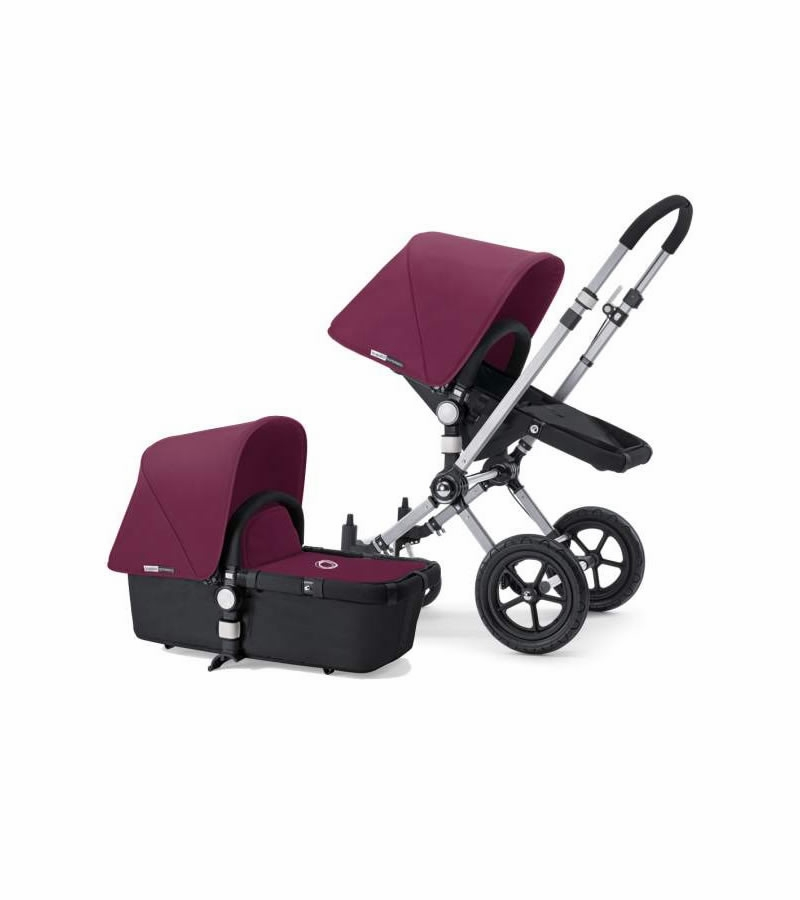 bugaboo cameleon plus grey base purple fabric. Black Bedroom Furniture Sets. Home Design Ideas