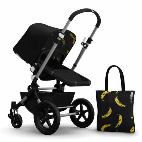 Bugaboo Cameleon3 Andy Warhol Accessory Pack - Black/Banana
