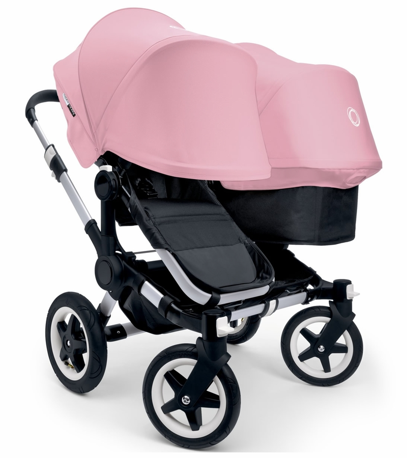 bugaboo donkey duo stroller extendable canopy 2015. Black Bedroom Furniture Sets. Home Design Ideas