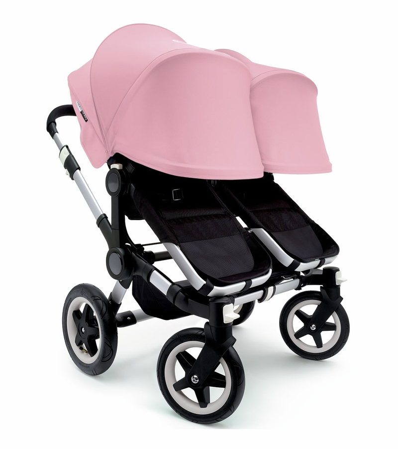 bugaboo donkey twin stroller extendable canopy 2015. Black Bedroom Furniture Sets. Home Design Ideas