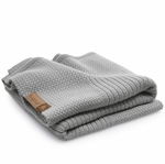 Bugaboo Soft Wool Blanket - Light Grey Melange