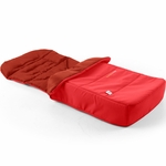 Bumbleride Footmuff & Liner in Cayenne Red