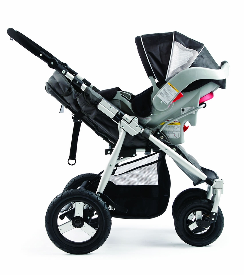 bumbleride indie 4 stroller jet black. Black Bedroom Furniture Sets. Home Design Ideas