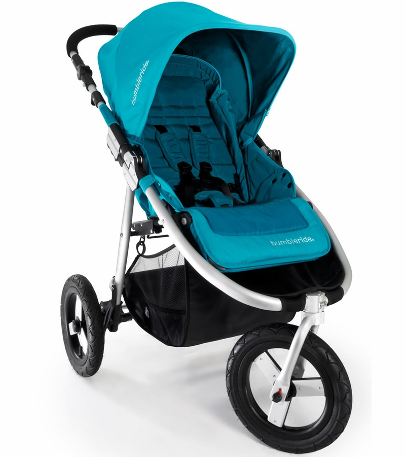 bumbleride indie stroller in aquamarine. Black Bedroom Furniture Sets. Home Design Ideas