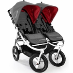 Bumbleride Indie Twin Stroller in Fog Grey