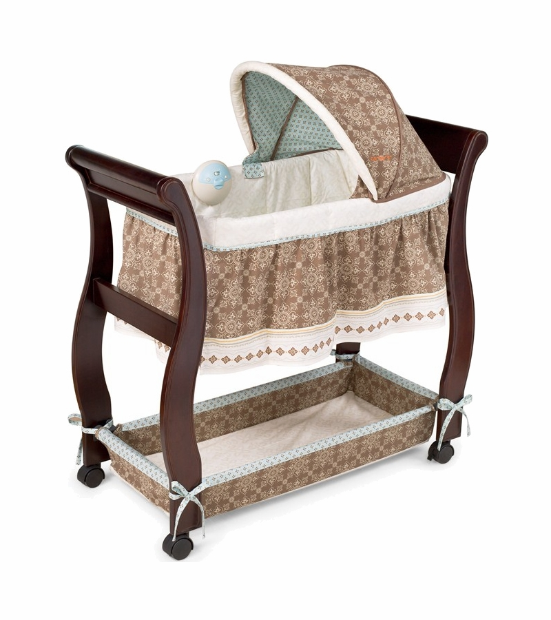 Carter's Animal Parade Wood Bassinet by Summer Infant Share Carter's Animal Parade Wood Bassinet by Summer Infant