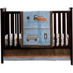 Carter's Bumper To Bumper 4 Piece Crib Set