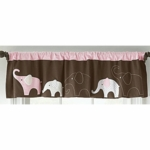 Carter's Elephant Pink Valance