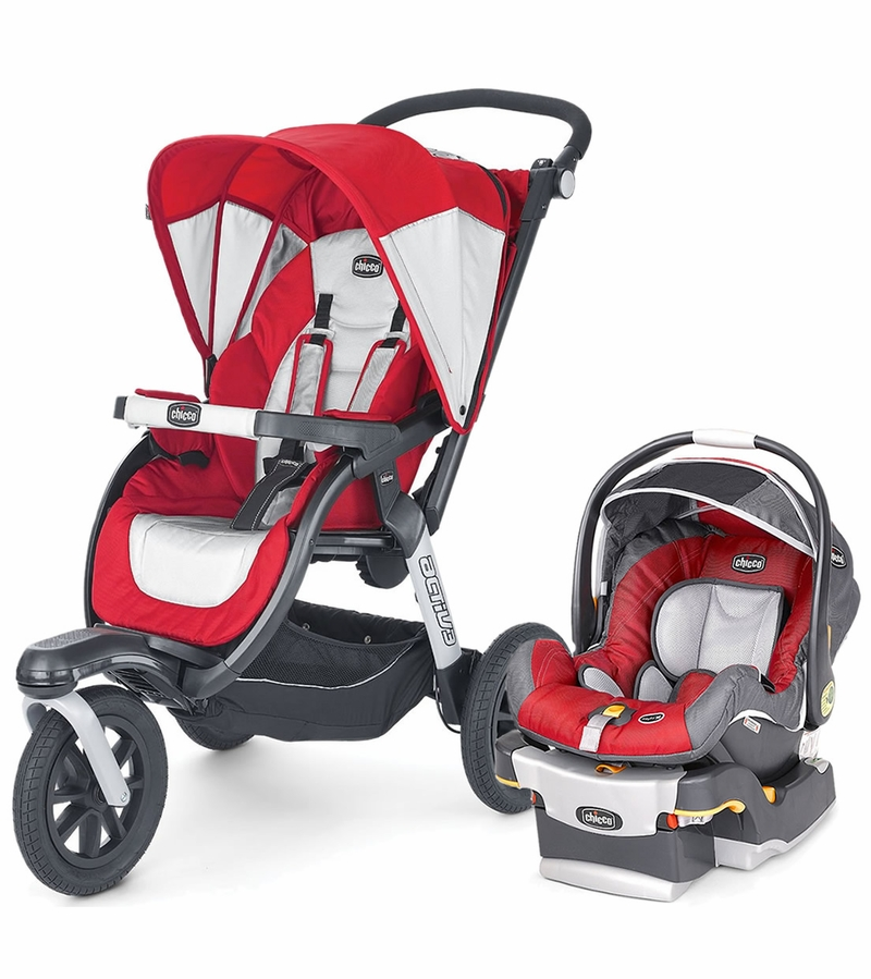 Chicco Activ Travel System With Car Seat