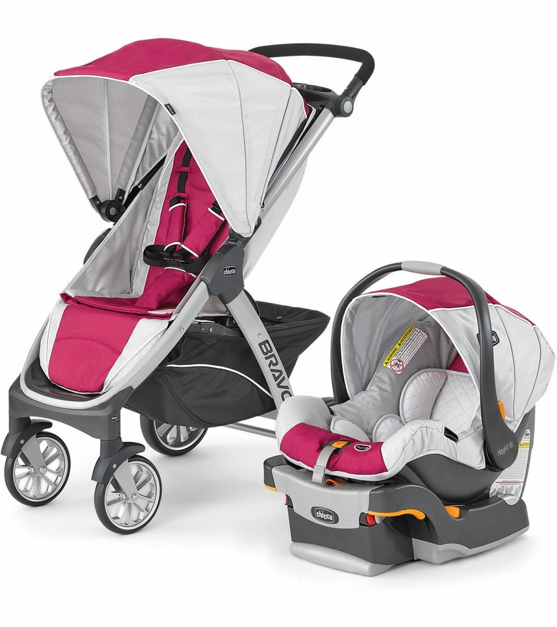 Chicco Car Seats >> Chicco Bravo Trio Travel System - Orchid