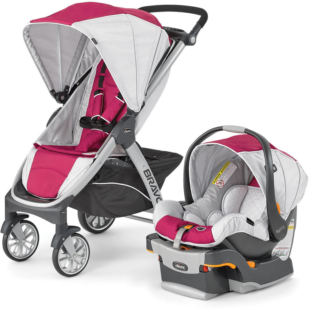 Chicco Bravo Trio Travel System Orchid