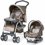 Chicco Cortina KeyFit SE Travel System - Chevron