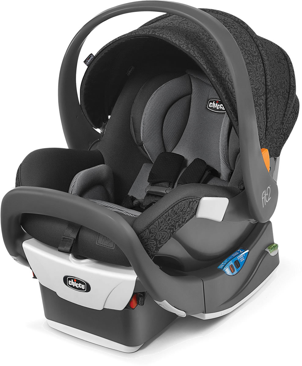 Chicco Fit2 Rear-Facing Infant & Toddler Car Seat - Fleur