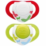 Chicco Hard Shield Orthodontic Pacifiers - Neutral - 4M+