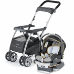 Chicco KeyFit Caddy & Keyfit 30 Infant Car Seat - Sedona