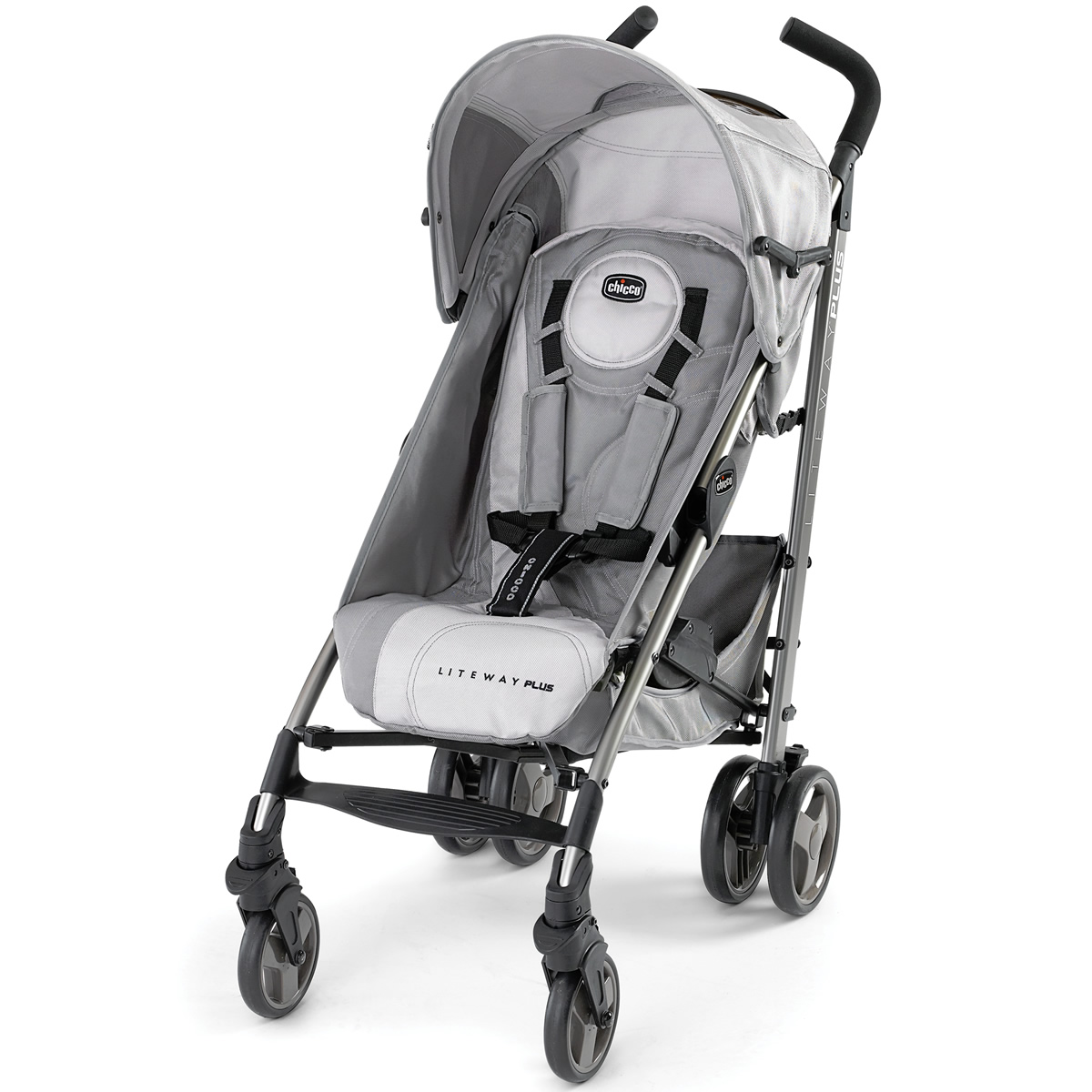 chicco liteway plus stroller silver. Black Bedroom Furniture Sets. Home Design Ideas
