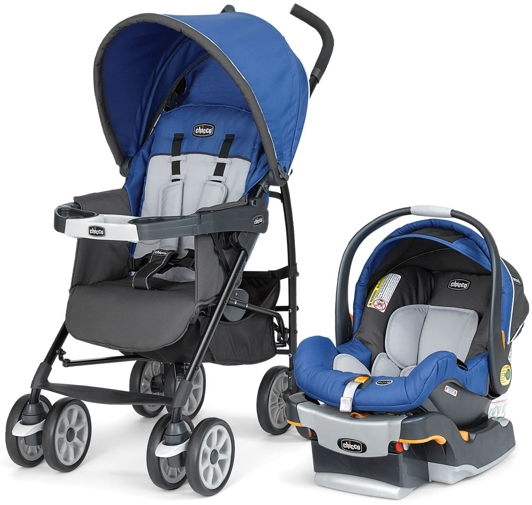 Chicco Neuvo Travel System Glacial
