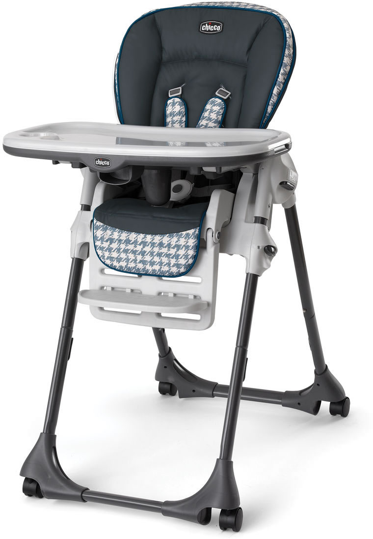 Chicco Polly Single-Pad High Chair - Iceland