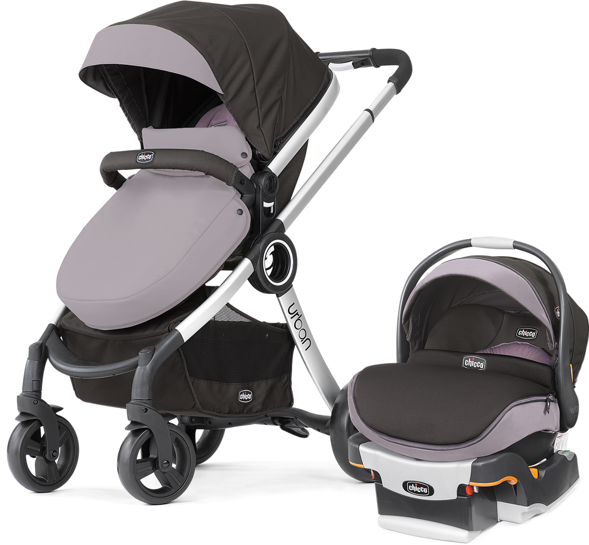 Chicco Urban & KeyFit 30 Zip Travel System - Violetta