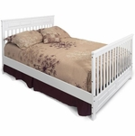 Child Craft Bed Rails for Camden, Logan and Watterson - Matte White