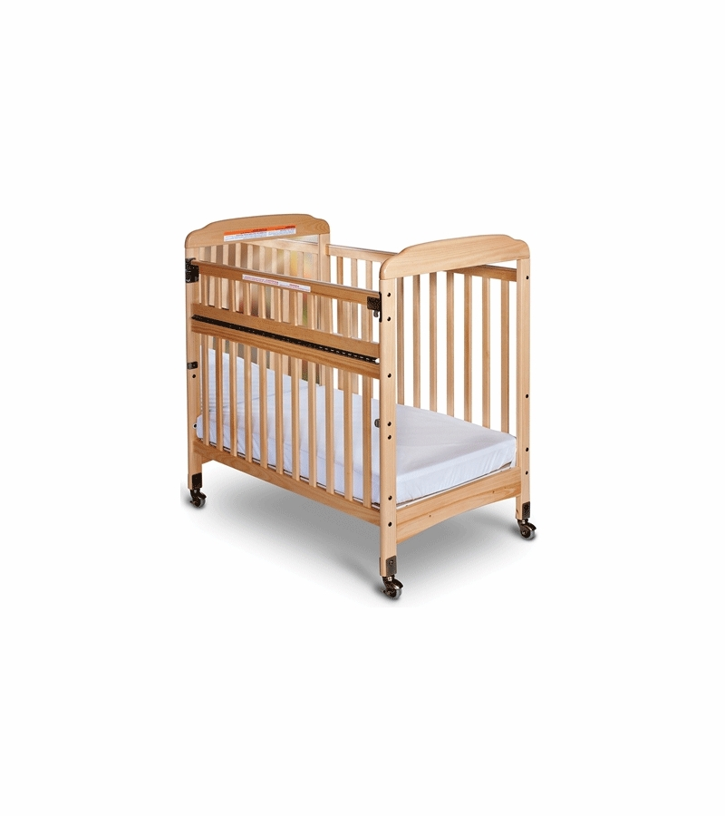 Child craft bella safeaccess compact mirror crib in natural for Child craft soho crib natural