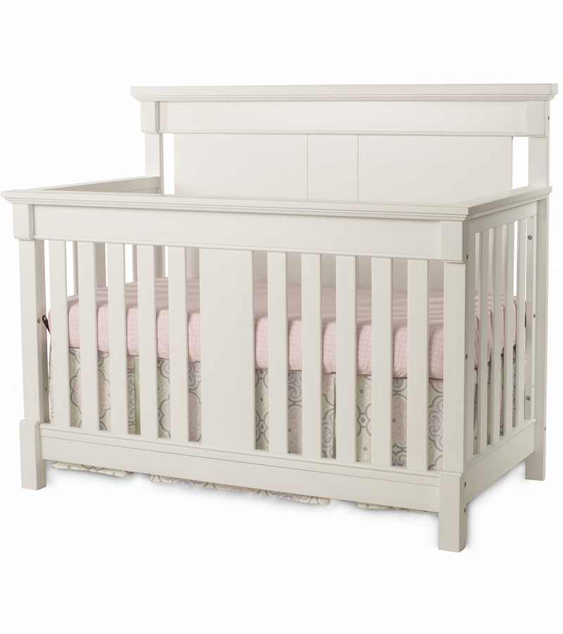Child craft bradford 4 in 1 convertible crib in matte white for Child craft crib reviews