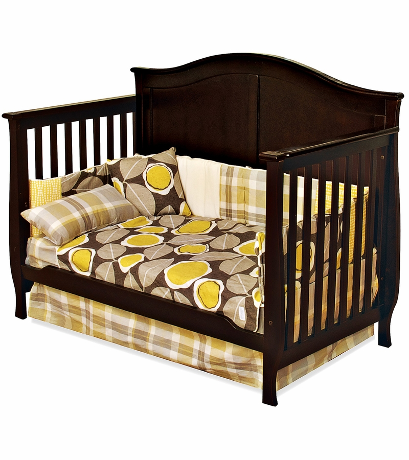 child craft camden convertible crib in jamocha