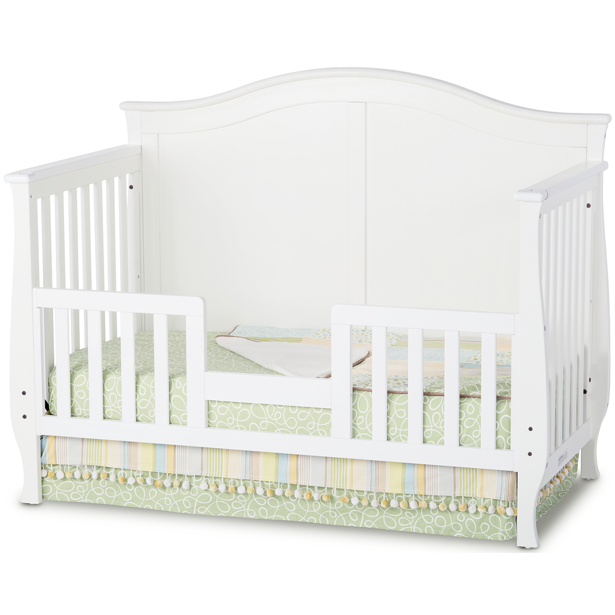 Child craft camden convertible crib in matte white for Child craft soho 4 in 1 convertible crib in natural