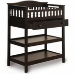 Child Craft Deluxe Changing Table in Jamocha