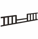 Child Craft 4-in-1 Convertible Crib Toddler Guard Rail - Jamocha