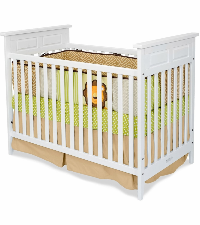 Child craft logan traditional crib in matte white for Child craft crib reviews