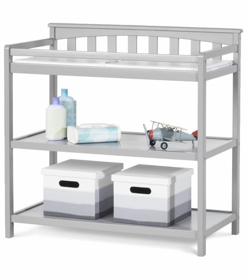 Child craft london changing table cool gray for Child craft changing table