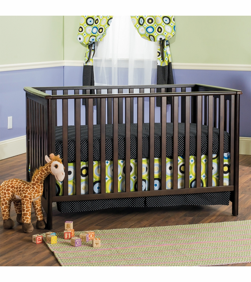 Child craft london euro crib in jamocha for Child craft crib reviews