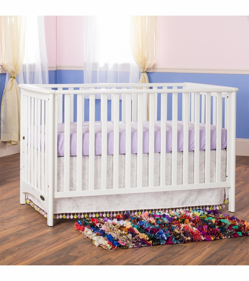 Child craft london euro crib in matte white for Child craft crib reviews