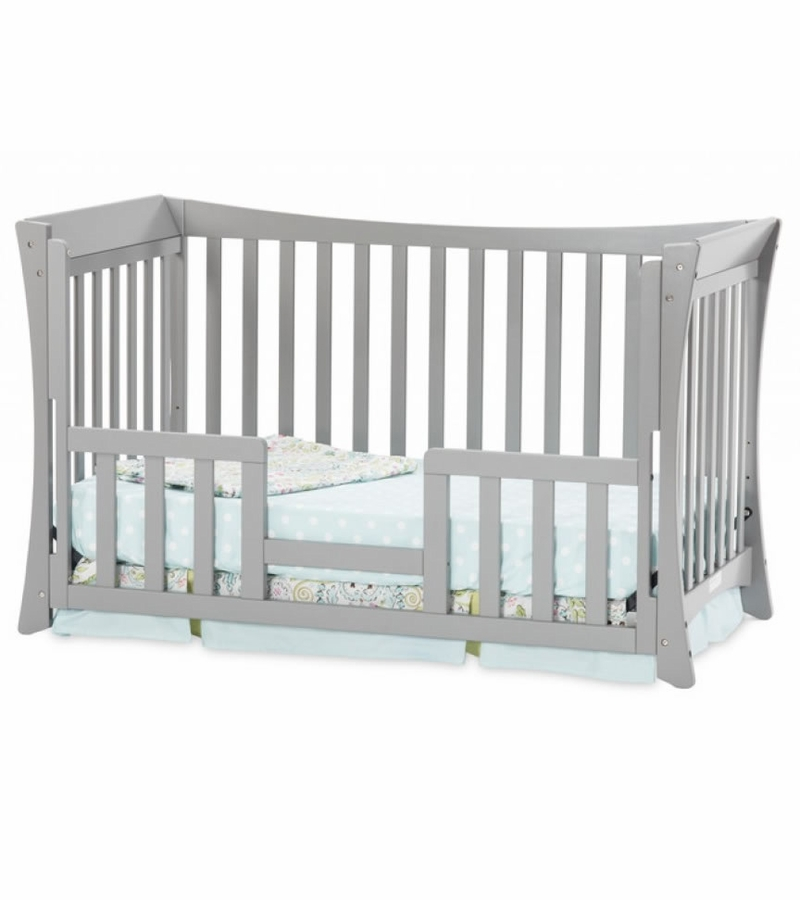 Child craft parisian 3 in 1 traditional crib cool gray for Child craft crib reviews
