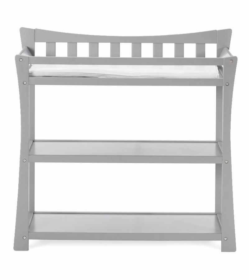 child craft parisian changing table cool gray. Black Bedroom Furniture Sets. Home Design Ideas
