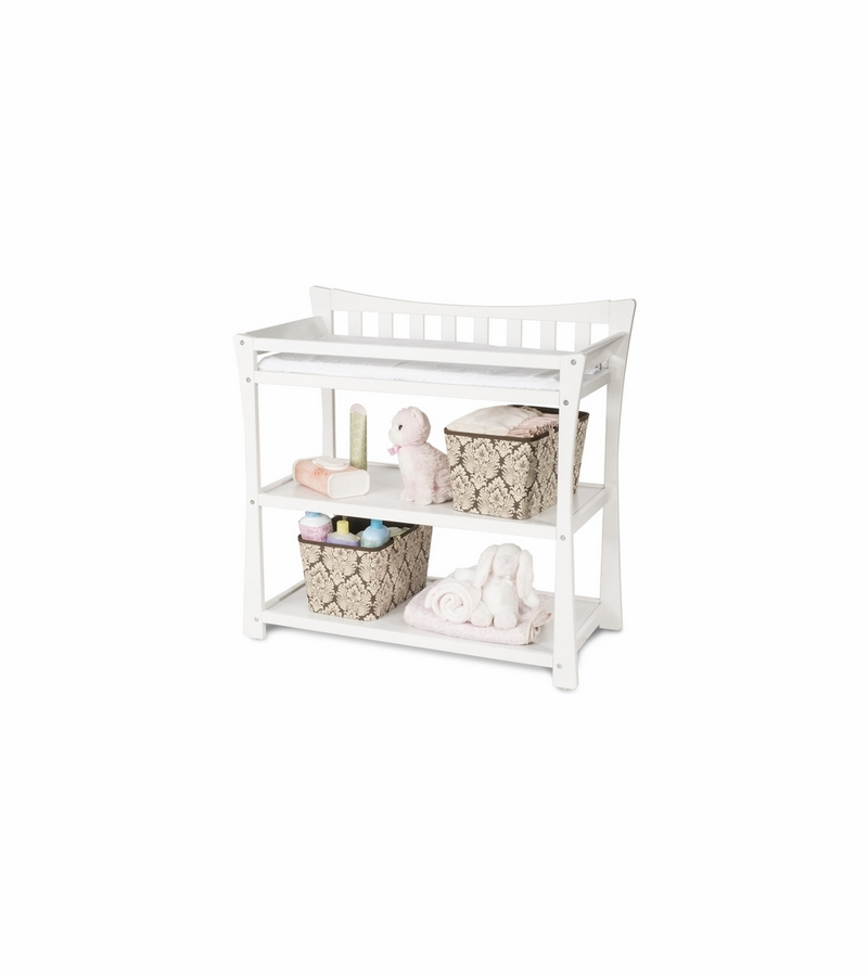 child craft parisian changing table in matte white. Black Bedroom Furniture Sets. Home Design Ideas