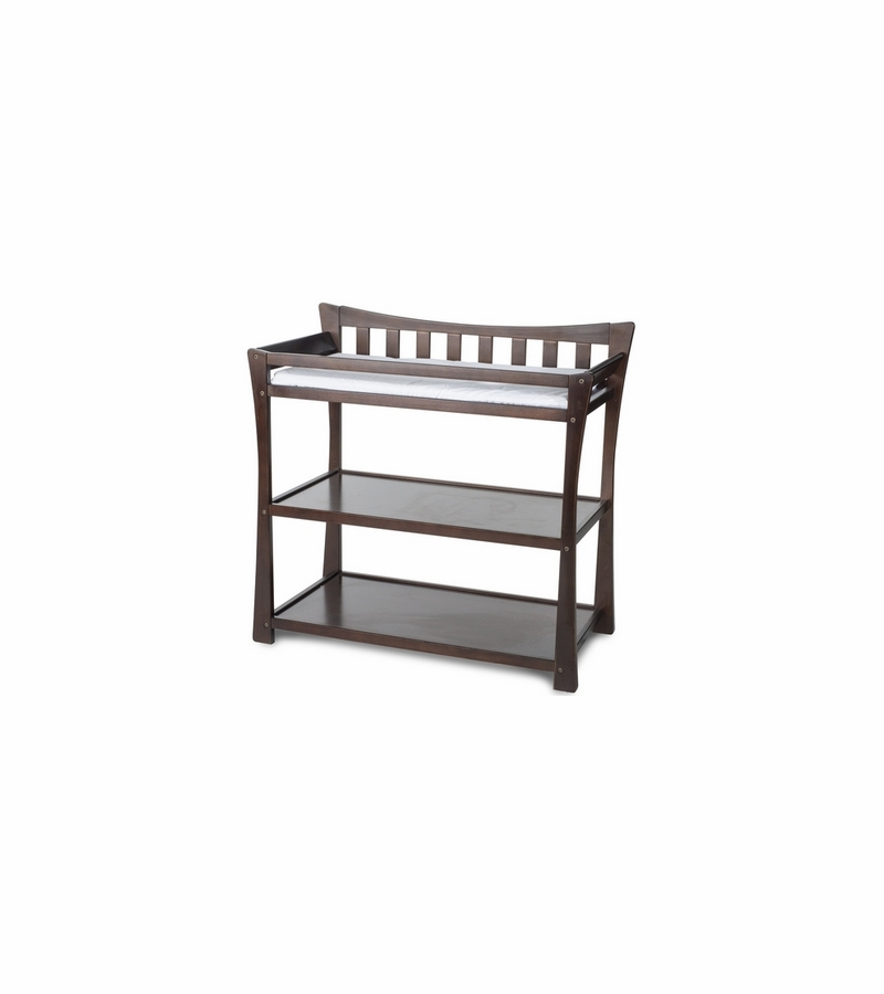 child craft parisian changing table in select cherry. Black Bedroom Furniture Sets. Home Design Ideas