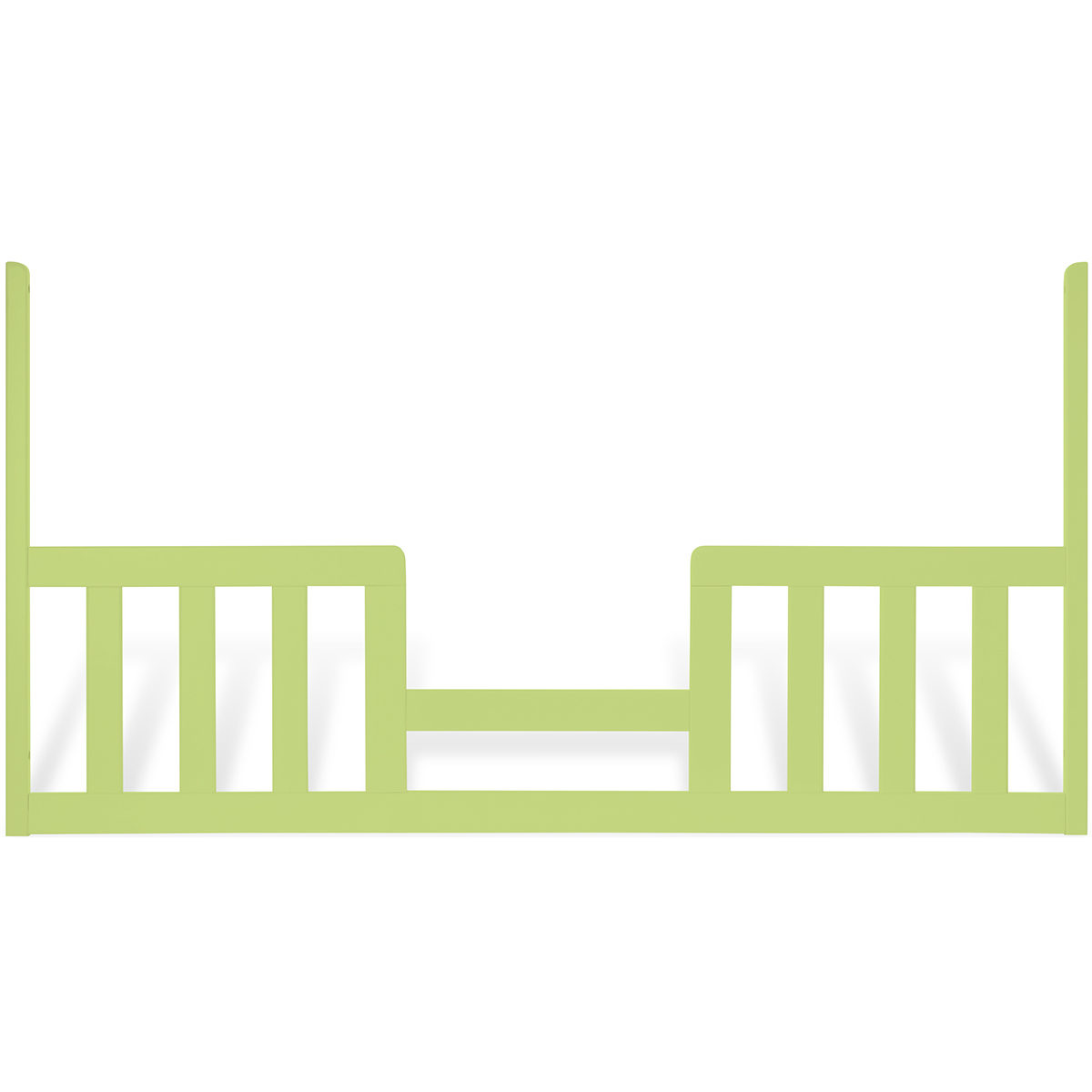 Child craft toddler guard rail for euro crib in key lime for Child craft london crib instructions