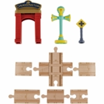 Chuggington Wood Track Accessory Pack With Vee