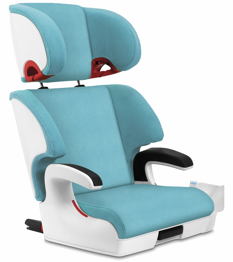 clek oobr booster car seat capri white. Black Bedroom Furniture Sets. Home Design Ideas